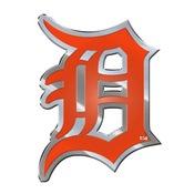 MLB - Detroit Tigers Embossed Color Emblem 3.25 x 3.25 -