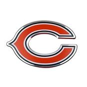 NFL - Chicago Bears Embossed Color Emblem 3.25 x 3.25 -