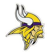 NFL - Minnesota Vikings Embossed Color Emblem 3.25 x 3.25 -