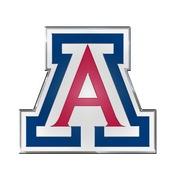 University of Arizona Embossed Color Emblem 3.25 x 3.25 -