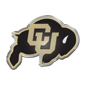 University of Colorado Embossed Color Emblem 3.25 x 3.25 -