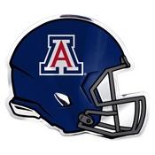University of Arizona Embossed Helmet Emblem 3.25 x 3.25 -