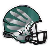 University of Oregon Embossed Helmet Emblem 3.25 x 3.25 -