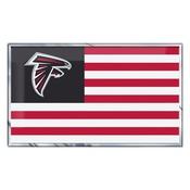 NFL - Atlanta Falcons Embossed State Flag Emblem 2