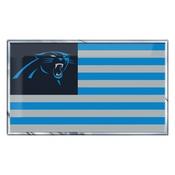 NFL - Carolina Panthers Embossed State Flag Emblem 2