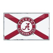 University of Alabama Embossed State Flag Emblem 2
