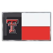 Texas Tech University Embossed State Flag Emblem 2