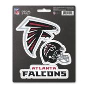 NFL - Atlanta Falcons Decal 3-pk 5 x 6.25 - 3 Various Logos / Wordmark