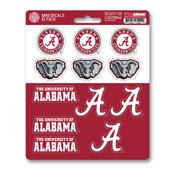 University of Alabama Mini Decal 12-pk 5 x 6.25 - 12 Various Logos / Wordmark