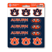 Auburn University Mini Decal 12-pk 5 x 6.25 - 12 Various Logos / Wordmark