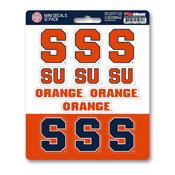 Syracuse University Mini Decal 12-pk 5 x 6.25 - 12 Various Logos / Wordmark