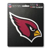 NFL - Arizona Cardinals Matte Decal 5 x 6.25 -