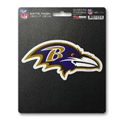 NFL - Baltimore Ravens Matte Decal 5 x 6.25 -