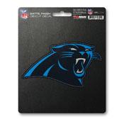NFL - Carolina Panthers Matte Decal 5 x 6.25 -