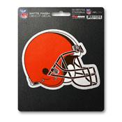 NFL - Cleveland Browns Matte Decal 5 x 6.25 -