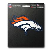 NFL - Denver Broncos Matte Decal 5 x 6.25 -