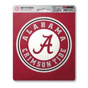 University of Alabama Matte Decal 5 x 6.25 -