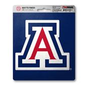 University of Arizona Matte Decal 5 x 6.25 -