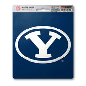 Brigham Young University Matte Decal 5 x 6.25 -