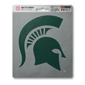 Michigan State University Matte Decal 5 x 6.25 -