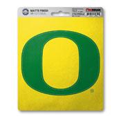 University of Oregon Matte Decal 5 x 6.25 -