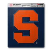 Syracuse University Matte Decal 5 x 6.25 -