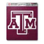 Texas A&M University Matte Decal 5 x 6.25 -