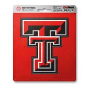 Texas Tech University Matte Decal 5 x 6.25 -