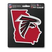 NFL - Atlanta Falcons State Shape Decal 5 x 6.25 -
