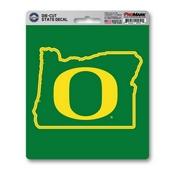 University of Oregon State Shape Decal 5 x 6.25 -