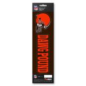 NFL - Cleveland Browns Team Slogan Decal 3 x 12 - Primary Logo & Team Slogan