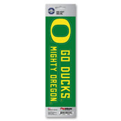 University of Oregon Team Slogan Decal 3 x 12 - Primary Logo & Team Slogan
