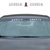 MLB - Los Angeles Angels Windshield Decal 34 x 3.5 - Primary Logo and Team Wordmark
