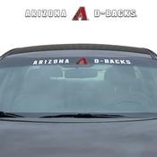 MLB - Arizona Diamondbacks Windshield Decal 34 x 3.5 - Primary Logo and Team Wordmark