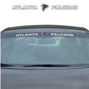 NFL - Atlanta Falcons Windshield Decal 34 x 3.5 - Primary Logo and Team Wordmark