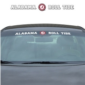 University of Alabama Windshield Decal 34 x 3.5 - Primary Logo and Team Wordmark