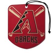 MLB - Arizona Diamondbacks Air Freshener 2-pk 2.75 x 3.5 -