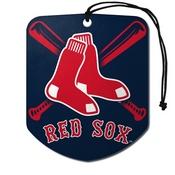 MLB - Boston Red Sox Air Freshener 2-pk 2.75 x 3.5 -