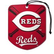 MLB - Cincinnati Reds Air Freshener 2-pk 2.75 x 3.5 -