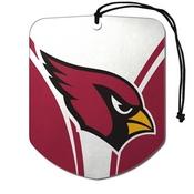 NFL - Arizona Cardinals Air Freshener 2-pk 2.75 x 3.5 - Cardinals Primary Logo