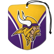 NFL - Minnesota Vikings Air Freshener 2-pk 2.75 x 3.5 - Vikings Primary Logo
