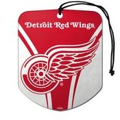NHL - Detroit Red Wings Air Freshener 2-pk 2.75 x 3.5 -