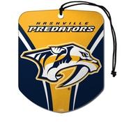 NHL - Nashville Predators Air Freshener 2-pk 2.75 x 3.5 -