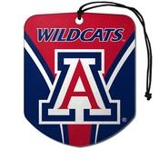 University of Arizona Air Freshener 2-pk 2.75 x 3.5 -