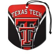 Texas Tech University Air Freshener 2-pk 2.75 x 3.5 -