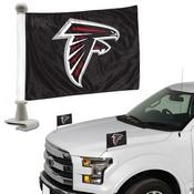 NFL - Atlanta Falcons Ambassador Flags 4 x 6 - Falcons Primary Logo