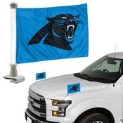 NFL - Carolina Panthers Ambassador Flags 4 x 6 - Panthers Primary Logo