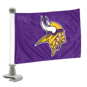 NFL - Minnesota Vikings Ambassador Flags 4 x 6 - Vikings Primary Logo
