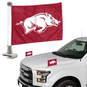 University of Arkansas Ambassador Flags 4 x 6 -