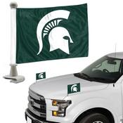 Michigan State University Ambassador Flags 4 x 6 -